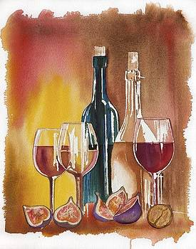 Wine by Elena Mahoney
