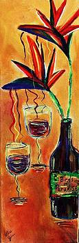 Wine from Birds of Paradise  by Victoria  Johns