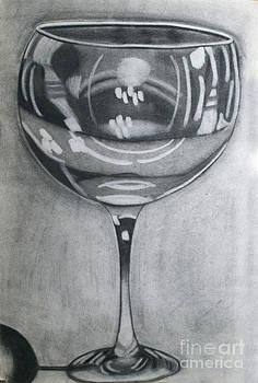 Wine Glass by Cecilia Stevens