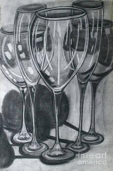 Wine Glasses by Cecilia Stevens