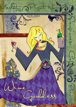 Wine Goddess by Jennifer Lipchin