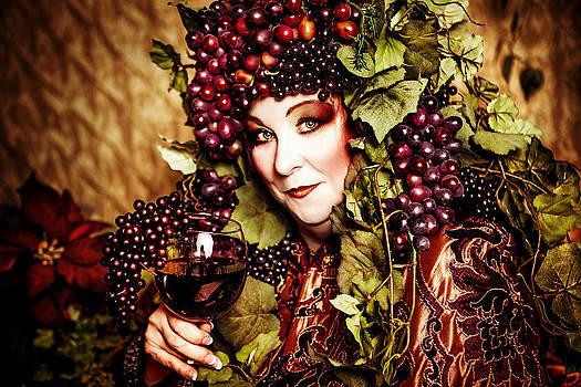 Wine Goddess by Renee Sarasvati