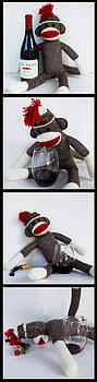 Wine Monkey by William Patrick