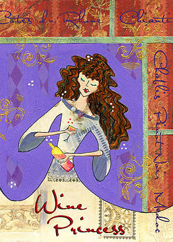 Wine Princess - Elegant by Jennifer Lipchin