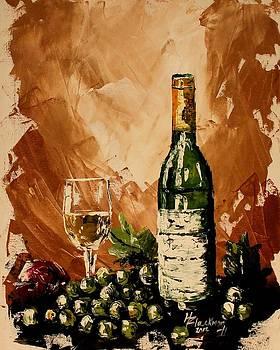 Wine Sampling II by Henry Blackmon