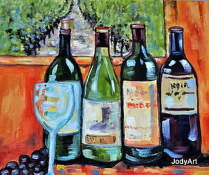 Wine tasting by Jody Smith