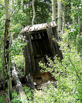 Winfield Outhouse by Laurie Klein