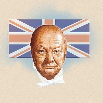 Winston Churchill by Harold Shull