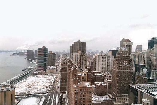 Winter Afternoon - Above New York City by Vivienne Gucwa