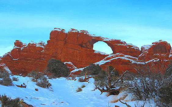 Winter Arch by Alex  Call
