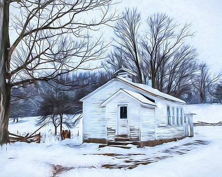 Chris Bordeleau - Winter at the Amish Schoolhouse
