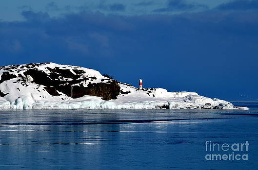 Winter At The Lake by Jaunine Roberts
