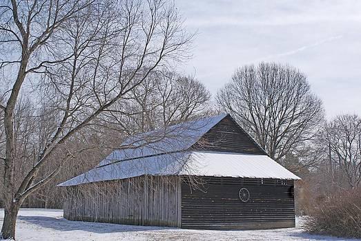 Winter Barn by Bill Talich