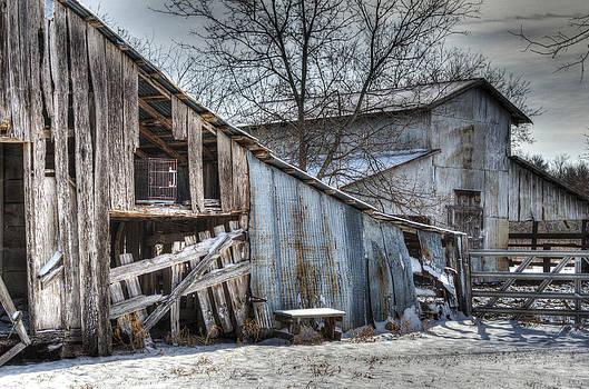 Winter Barn II by Lisa Moore