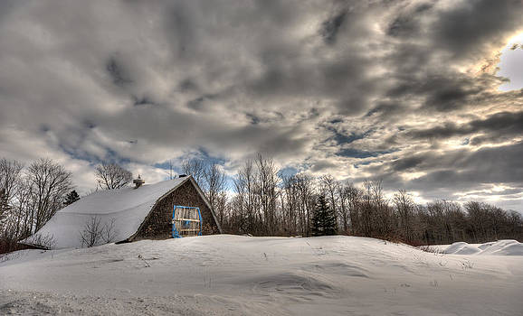 Winter Barn by Jeff Clark