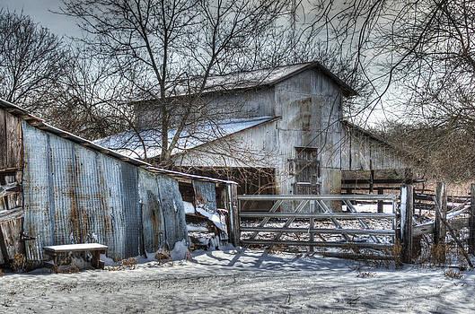 Winter Barn by Lisa Moore