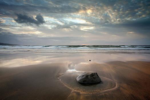 Dominick Moloney - Winter beach Fanore Co Clare Ireland