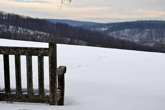 Kathy McCabe - Winter Bench