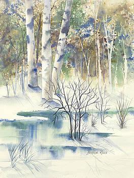 Winter Birches by Bonnie Ross