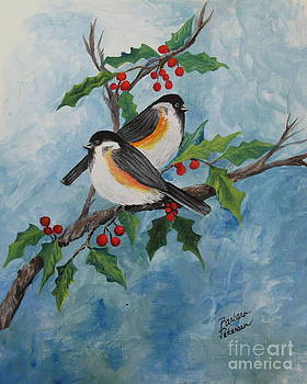 Winter Birds by Barbara Petersen