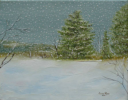 Winter Blanket by Judith Rhue