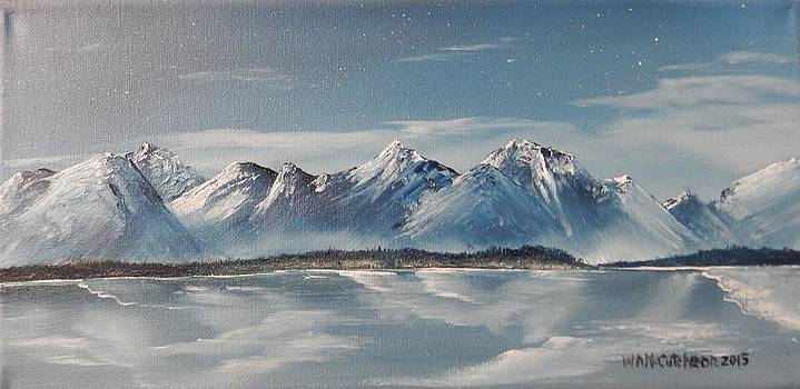 Winter Blue by William McCutcheon