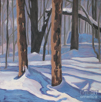 Winter Blues by Joan McGivney
