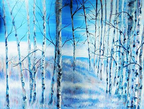 Winter Blues by Patti Gordon