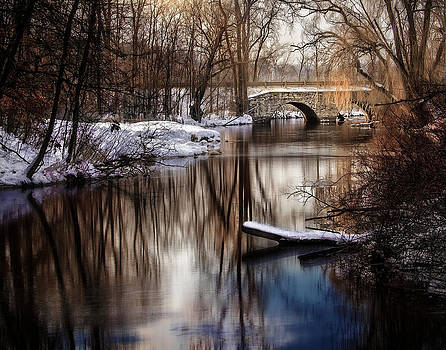 Winter Bridge by David Thurau