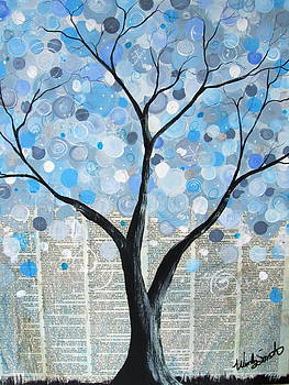Winter bubble tree by Wendy Smith