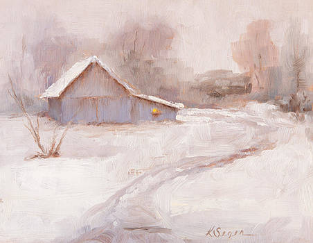 Winter Chicken Coop by Katherine Seger