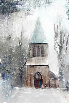 Winter Church by Donna Tomlin