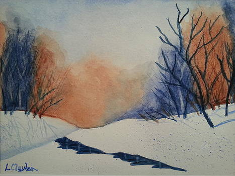 Winter Clearing by Lynette Clayton