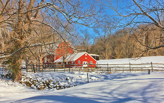 Winter Countryside by Cathy Leite Photography