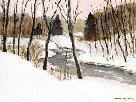 J REIFSNYDER - Winter creek