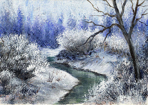 Winter Creek by Rita Miller