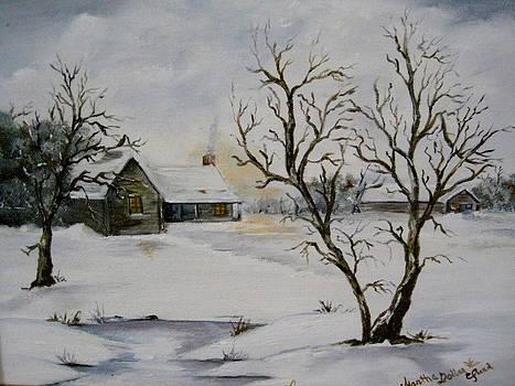 Winter Dawn by Martha Efurd