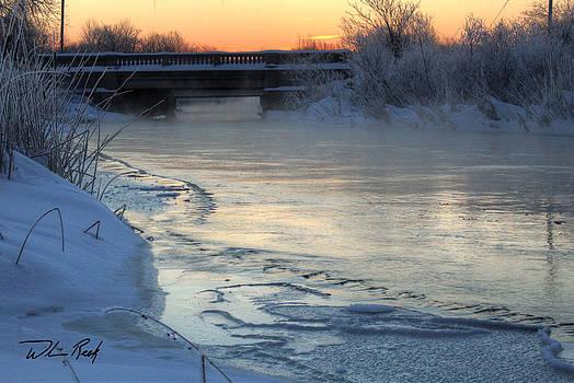 William Reek - Winter Dawn on the River 1