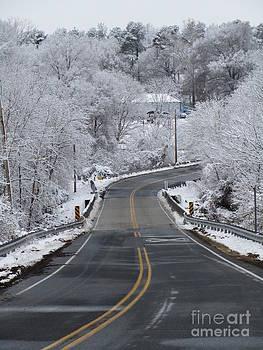 Jaclyn Hughes Fine Art - Winter Drive