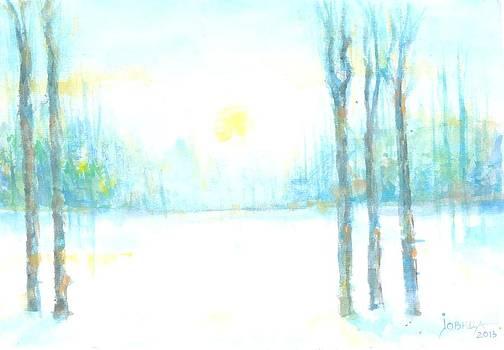 Winter Elegy by Jovica Kostic