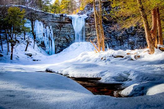 David Hahn - Winter Falls