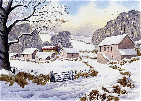 Anthony Forster - Winter Farm