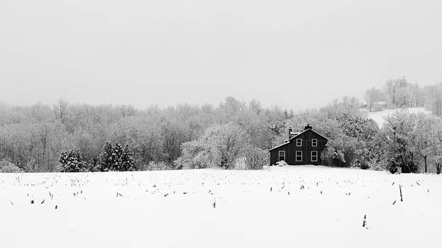 Winter Farm B by Mike Southern