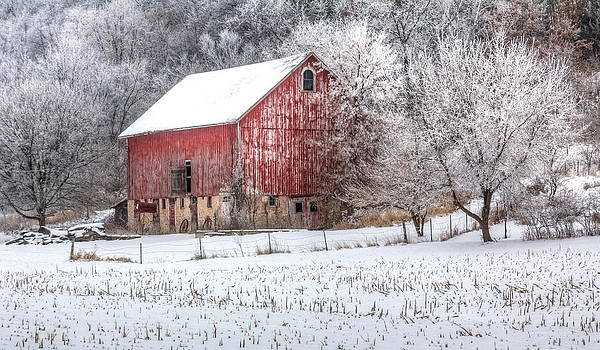 Winter Farm by Kelly Marquardt