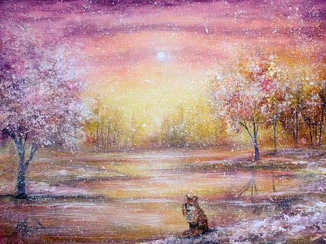 Winter Fox by Ann Marie Bone