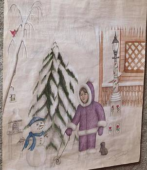 Winter fun in Fort Hill by Diane Mitchell