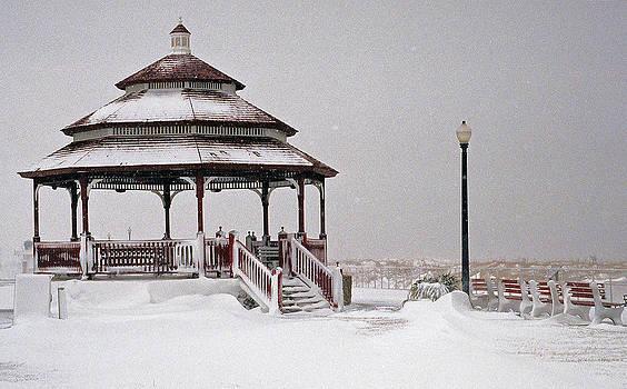 Winter Gazebo by William Walker