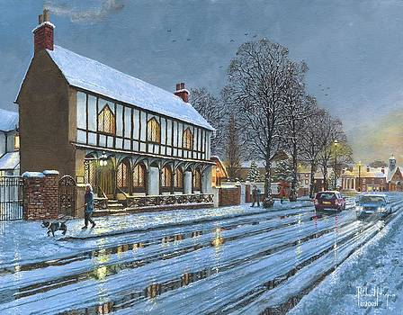 Winter Glow Parish Room Tickhill Yorkshire by Richard Harpum
