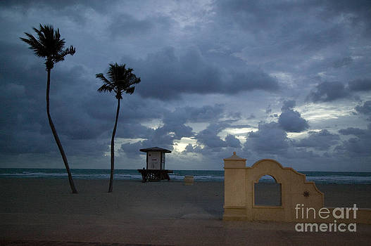 Winter Hollywood Beach Florida by Roy H Wagner ASC