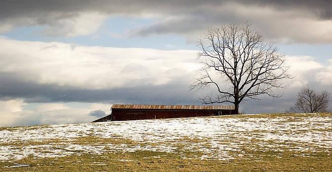Winter in Fort Defiance. by Bill LITTELL